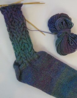 Shifting Cables socks I