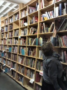 Powell's Books - the knitting section!